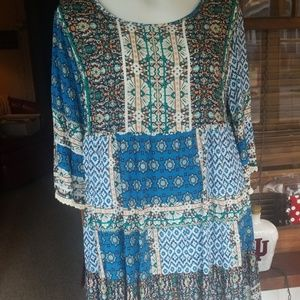 Umgee multicolored dress in many colors!